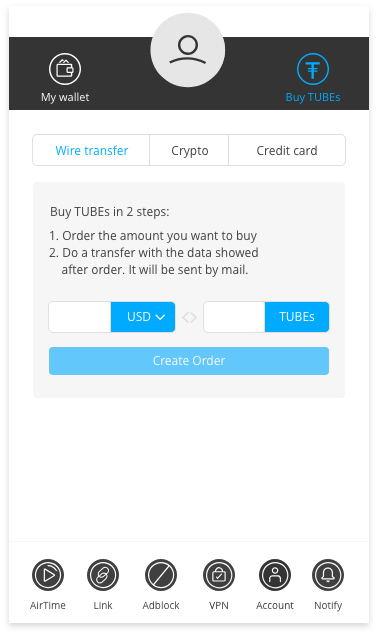 BitTube - Browser extension - Wallet app and Desktop